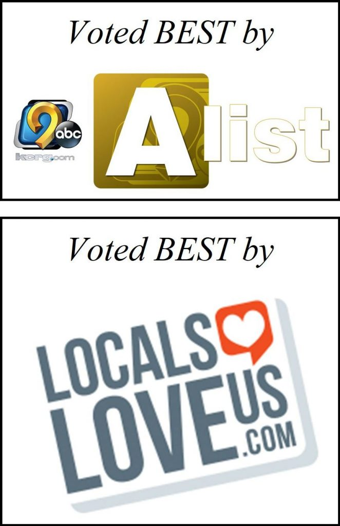 Voted best by kcrg a list and locals love us
