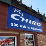 my chiro 16th ave sw sign outside